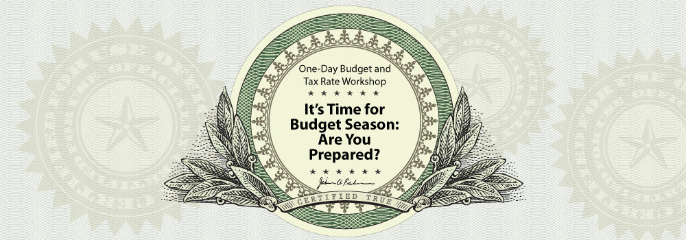 One-Day Budget and Tax Rate Workshop